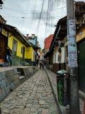 Ruas de Bogotá Imagens de Stock Royalty Free