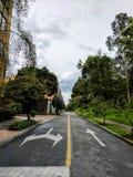 Ruas de Bogotá Imagens de Stock