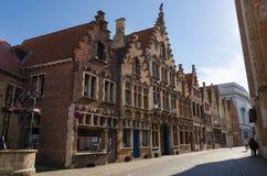 Ruas de Bruges Imagem de Stock Royalty Free