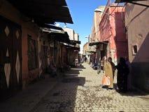 Ruas de C4marraquexe Fotografia de Stock