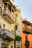 Ruas de Cartagena, Colômbia Imagem de Stock Royalty Free