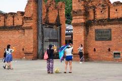 Ruas de Chiang Mai Imagens de Stock