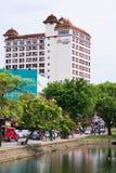 Ruas de Chiang Mai Imagens de Stock Royalty Free