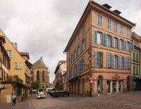 Ruas de Colmar Imagem de Stock