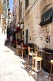 Ruas de Croatia Fotografia de Stock