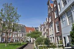 Ruas de Europa, Amsterdão, Amsterdão, verão, curso, caminhada fotografia de stock royalty free