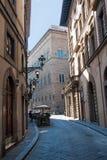 Ruas de Florença, Italy Fotografia de Stock