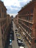 Ruas de Genoa Fotografia de Stock