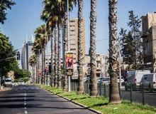 Ruas de Haifa Foto de Stock Royalty Free