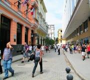 Ruas de Havana Foto de Stock Royalty Free