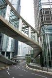 Ruas de Hong Kong Fotografia de Stock