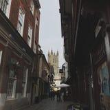 Ruas de Inglaterra imagem de stock