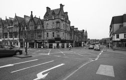 Ruas de Inverness, Escócia, Reino Unido foto de stock royalty free