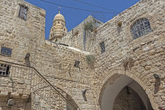 Ruas de Jerusalem Imagem de Stock Royalty Free