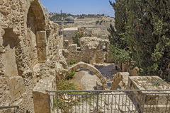 Ruas de Jerusalem Fotos de Stock