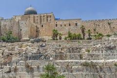 Ruas de Jerusalem Imagens de Stock