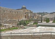 Ruas de Jerusalem Imagem de Stock