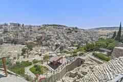Ruas de Jerusalem Foto de Stock Royalty Free