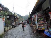 Ruas de Kasauli Fotos de Stock Royalty Free