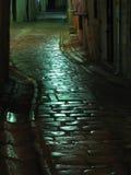 Ruas de Kotor velho Foto de Stock Royalty Free