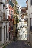 Ruas de Lisboa Fotografia de Stock