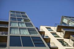 Ruas de Londres - construções modernas Foto de Stock Royalty Free