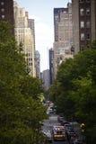 Ruas de Manhattan Imagens de Stock Royalty Free