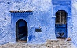 Ruas de Marrocos Fotografia de Stock
