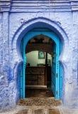 Ruas de Marrocos Imagem de Stock Royalty Free