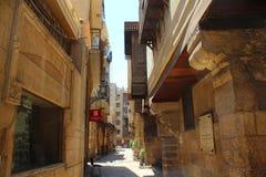 Ruas de Moez fotografia de stock royalty free