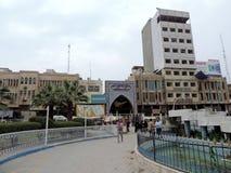 Ruas de Najaf imagem de stock royalty free