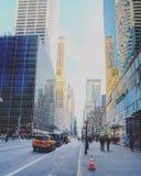 Ruas de New York Foto de Stock