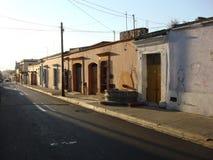 Ruas de Oaxaca mim Fotos de Stock Royalty Free