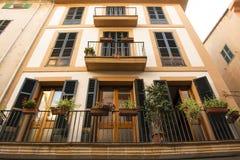 Ruas de Palma de Mallorca fotos de stock royalty free
