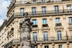 Ruas de Paris, França - curso Europa - outubro fotos de stock royalty free