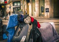 Ruas de Paris, França - curso Europa - outubro imagens de stock