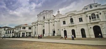 Ruas de Popayan, Colômbia fotos de stock royalty free