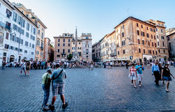 Ruas de Roma Fotografia de Stock