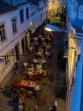 Ruas de Tavira O Algarve, Portugal Imagem de Stock