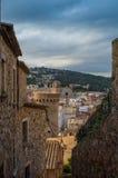 Cidade velha em Spain fotos de stock royalty free