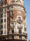 Ruas de Valencia Pintor Sorolla e de Juan de Austria Fotografia de Stock