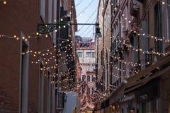 Ruas de Veneza Foto de Stock