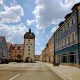 Ruas de Vilseck Imagem de Stock