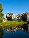 Ruas de Volendam Imagem de Stock