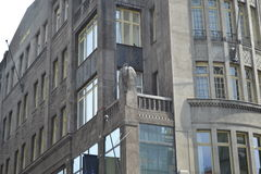 Ruas do ‹do †do ‹do †da cidade da arquitetura da cidade Fotos de Stock Royalty Free