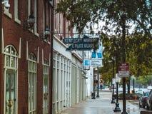 Ruas do centro de exploração de Kentucky imagem de stock