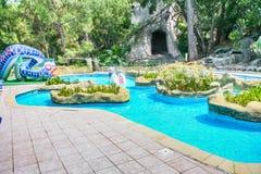 Ruas do hotel na vila de Camyuva Imagens de Stock Royalty Free