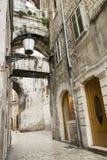 Ruas do Split foto de stock royalty free