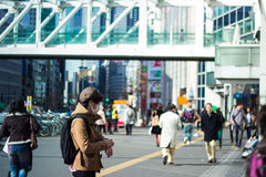 Ruas do Tóquio Imagens de Stock