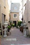 Ruas e casas, Holanda Fotografia de Stock Royalty Free